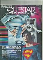 QUESTAR Collectors Edition Superman Dawn of the Dead Plus 2nd issue December