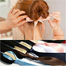 Hair Accessories Magic Sponge Headwear Ribbon Donut Hair Device Fashion New Hot