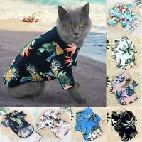 Pet Puppy Fancy Shirt Kleiner Beach Style T-Shirt Cat Weste Haustier Kleidung