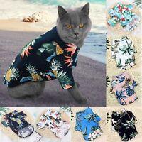 Pet Puppy Summer Shirt Small Dog Cat Pet Clothes Vest T Shirt Beach Style HOT