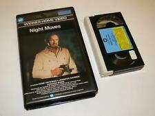 Betamax Video ~ Night Moves ~ Gene Hackman ~ Pre-Cert ~ Warner Home Video