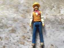 FISHER PRICE SWEET STREETS FIGURE REPLACEMENT MAN W STRAW HAT & BOW TIE