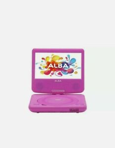 Alba 7 Inch Portable DVD Player Pink