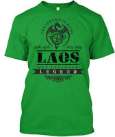 Legend Is Alive Laos An Endless The Premium Tee T-Shirt
