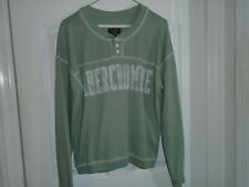 Abercrombie & Fitch Green Sweatshirt Size Small