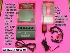 FLANGER PEDAL, Rocktron HYPNOTIC FLANGE guitar effect pedal, DC ON TAP included