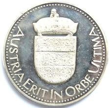 "Silbermedaille 1976, Österreich, ""Austria Erit In Orbe Ultima"""