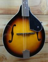 New Washburn M1K A Style Acoustic Mandolin Pack Sunburst