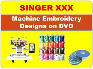 Singer Machine Embroidery Designs Collection in excess of 150,000 XXX Format