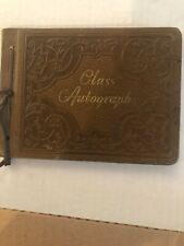 Leather Bound Autograph Book Class Of 1940