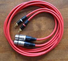2x1,5 Meter Profi XLR-Cinch-Kabel für Studer C221 A730 D730