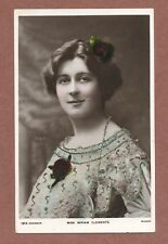 Miriam Clements ( Mrs Walker-Leigh  )  RP + Glitter,  Norwich 1904    RK770