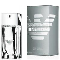 DIAMONDS FOR MEN de EMPORIO ARMANI - Colonia / Perfume 50 mL  Man / Uomo / Homme