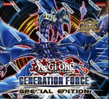 YUGIOH GENERATION FORCE SPECIAL EDITION BOX BLOWOUT CARDS