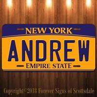 auto tag New York LIBERTY ISLANDERS Hockey sports, License Plate