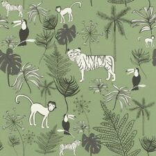 Rasch Tapete 531817 Bambino XVIII Kindertapete Tiere Dschungel Kinderzimmer