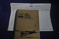 1974 Flight Review Manual Cessna Integrated Flight Training System