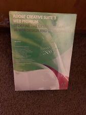Adobe Creative Suite 3 Web Premium, PN 29700045, Full Retail, Windows,Sealed Box