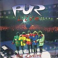 Live-die Zweite von Pur   CD   Zustand gut
