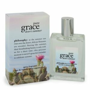 PHILOSOPHY Pure Grace Desert Summer Perfume 2 oz NEW IN SEALED BOX