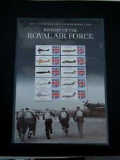 GB History of the Royal Air Force 90th Anniversary RAF - 2005  Sheet 10 x 1st
