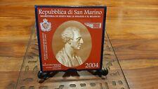 San Marino 2004 2 Euro commemorativi FdC Bartolomeo Borghesi