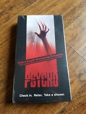 Psycho (VHS, 1998)  SCREENING COPY Vince Vaughn, Anne Heche,  Video Horror Tape