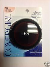 CoverGirl Clean Pressed Face Powder CLASSIC BEIGE #130 ORIGINAL FORMULA NEW.