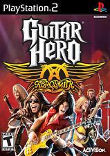 Brand New Guitar Hero Aero Smith for PS2
