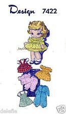 7422 Vintage Soft Doll Pattern Clothes Mail Order Ginny