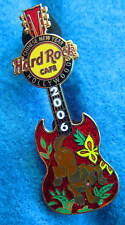 HOLLYWOOD CHINESE NEW YEAR COCKER SPANIEL DOG GIBSON GUITAR Hard Rock Cafe PINS