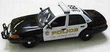 Motormax 1/18 San Gabriel, CA Police Ford Crown Victoria - 73538