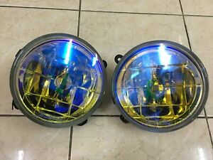 Subaru Impreza Sti GC8 GF8 Bug Eye V7 GDB GDA OEM Rainbow Foglights (USED)