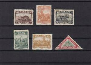 germany  scarce bergedorf local animal stamps ref r13705