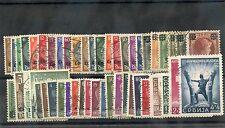 LOTHERINGEN-UKRAINE 1939-1945 70 DIFFERENT F-VF USED $140