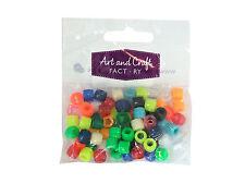 Assorted Pony Barrel Beads (15g)
