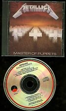 Metallica Master of Puppets Early Press USA CD Elektra / Asylum no IFPI
