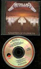 Metallica Master of Puppets Early Press USA CD Elektra / Asylum no IFPI