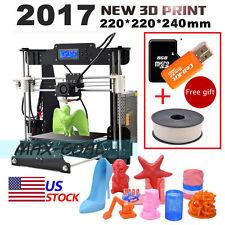 Anet A8 DIY Assembled 3D Printer Upgrade High Precision Reprap Prusa i3+Filament
