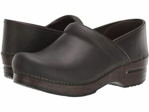 Dansko Professional Moss Oiled Pull Up Women's Clogs - NEW - Choose Size