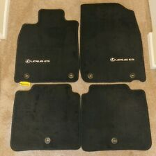 LEXUS ES350/ES300H BLACK CARPET FLOOR MATS 2013-2015 - 4 PCS - PT208-33130-20