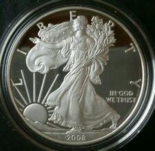 2008 W Proof $1 American Silver Eagle Dollar