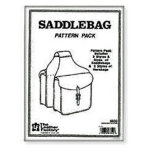 Saddle Bag Pattern Pack Tandy Leather 6030-00