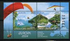 Europa cept 2004 Servië-Montenegro blok 57  - MNH cat waarde € 25