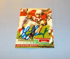 Garrison Hearst Signed Autographed 1995 SkyBox Card Cardinals Georgia