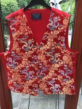 Red Dragon Waistcoat XL By Lloyd Attlee & Smith