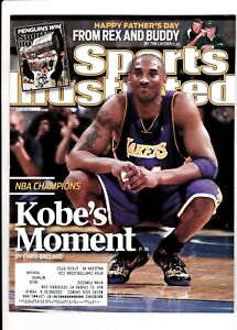 Kobe Bryant Sports Illustrated 2009 & 2010 Los Angeles Lakers Lot of 2