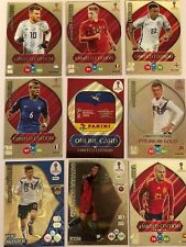 Panini ADRENALYN XL World Cup 2018 ICON,TOP MASTER,ONLINE,LIMITED EDITION CARDS