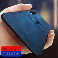 For Huawei Nova 4 3i 3E 2i Case Luxury Hybrid Soft TPU Leather Matte Back Cover