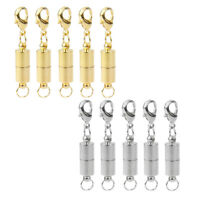 10 Sets Magnetic Clasps Jewelry Converter Lobster Clasp DIY Jewelry Findings